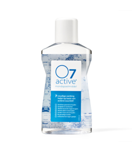 O7  O7 Active Mondspoelmiddel 500 ml