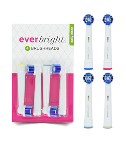 Everbright Everbright DailyClean opzetborstels - 4 stuks