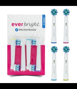 Everbright Everbright X-Clean opzetborstels - 4 stuks