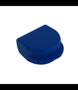 Gebitsbakje voor Protheses, Beugels, Bitjes - Donkerblauw - Medium