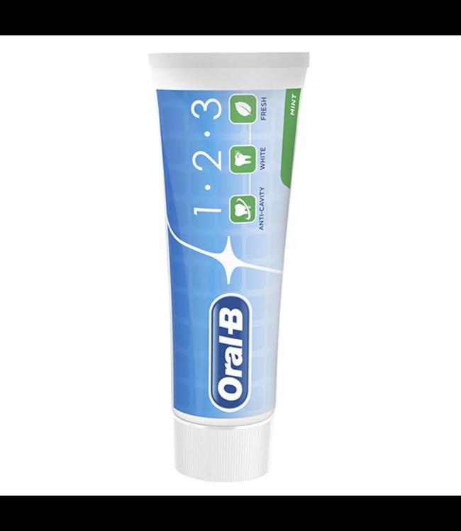 Oral-B Oral-B 1-2-3 Mint Tandpasta - 75 ml