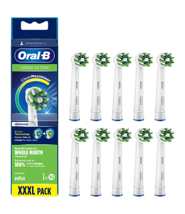 Oral-B Oral-B Cross Action Opzetborstels CleanMaximiser 8+2 GRATIS