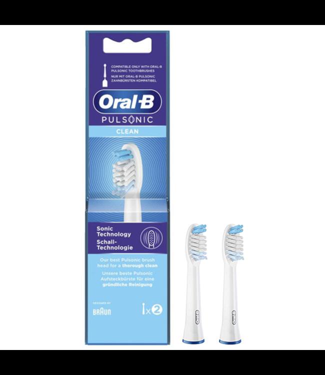 Oral-B Oral-B Pulsonic Clean opzetborstels - 2 stuks