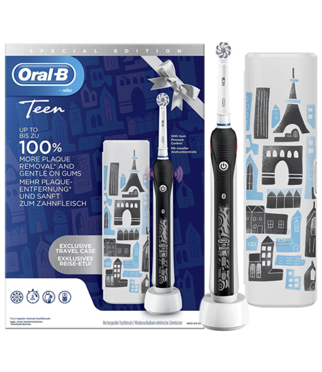Oral-B Oral-B Smart Teen Black + Reisetui Special Edition