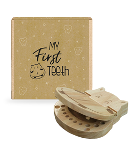 My First Teeth - Houten Tandendoosje