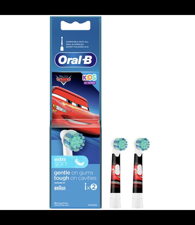 Oral-B Oral-B kinderen Cars Opzetborstels - 2 stuks