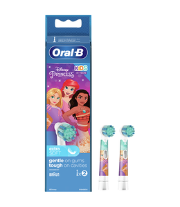 Oral-B Oral-B Kids Princess Opzetborstels - 2 stuks