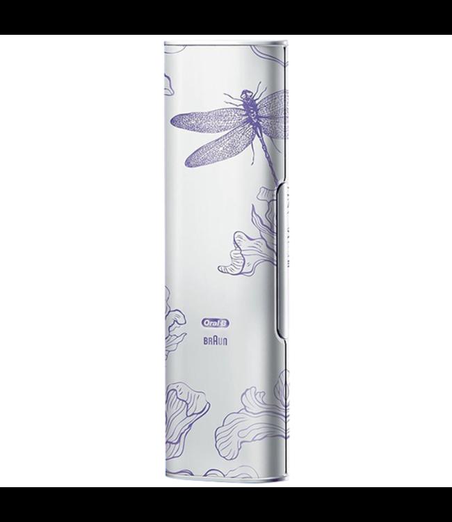Oral-B Oral-B GENIUS USB Reisetui - Dragonfly Orchid Purple