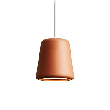 New Works hanglamp Material - Terracotta