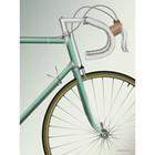 Vissevasse A5 kaart | miniposter Go Baby - Racing Bicycle