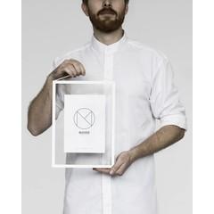 Moebe frame A4 white