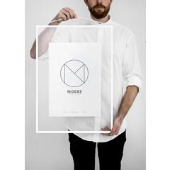 Moebe Frame lijst A2 wit