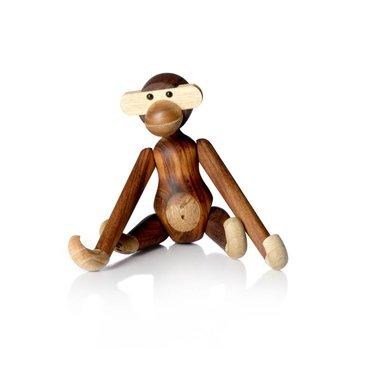 Kay Bojesen Houten aapje Monkey small - original - teak-limba