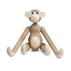 Kay Bojesen houten aapje Monkey small - oak-maple