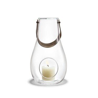Holmegaard DWL lantern clear glass 29 cm