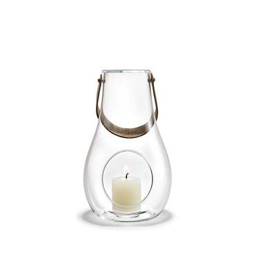 Holmegaard Design with Light lantaarn helder glas 25 cm