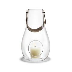 Holmegaard DWL lantern clear glass 45 cm