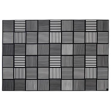 Rosendahl placemat Nanna Ditzel black (2 pcs)