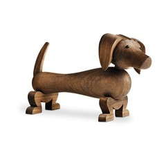 Kay Bojesen houten teckel Dog