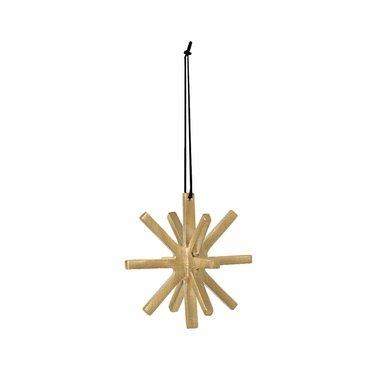 Ferm Living Winterland Brass Ornament - star