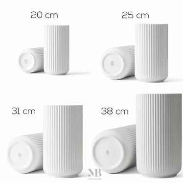 Lyngby Porcelaen Porcelain vase - White