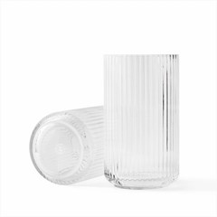 Lyngby Porcelaen glass vase - clear (various sizes)
