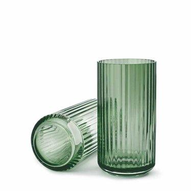 Lyngby Porcelaen Glass vase - Copenhagen Green
