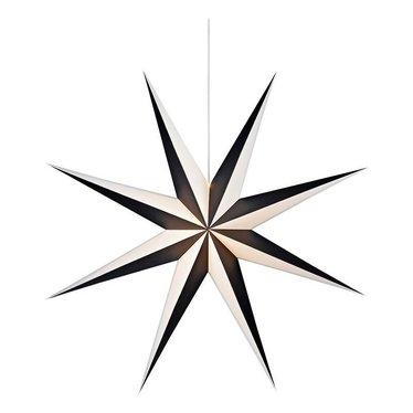 Markslöjd Christmas star Alva with light