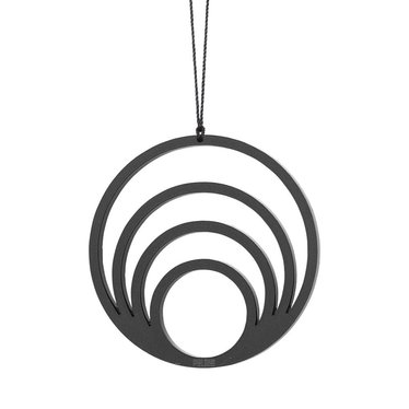 Felius Hanger Circle 4 in 1 2-pack black