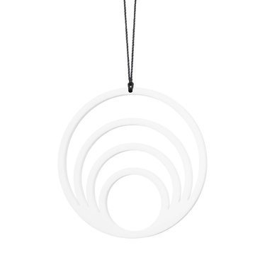 Felius Hanger Circle 4 in 1 2-pack white