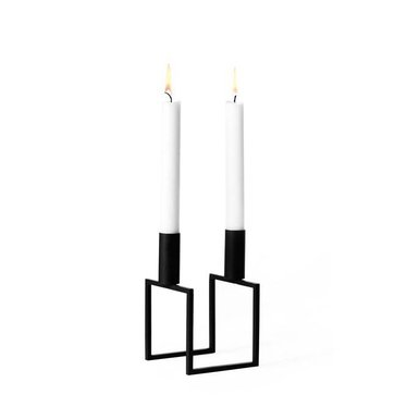 By Lassen Candleholder Line black