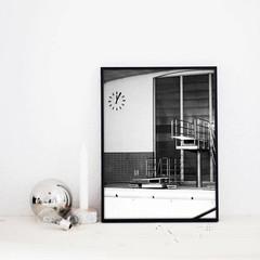 Coco Lapine Design poster Berlin Swim 1 30x40
