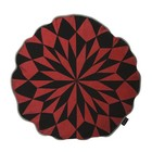 Ferm Living round cushion Star rust