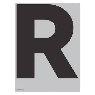 Playtype Grey poster - R (70x100)