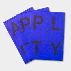 Playtype PLTY notitieblok blauw
