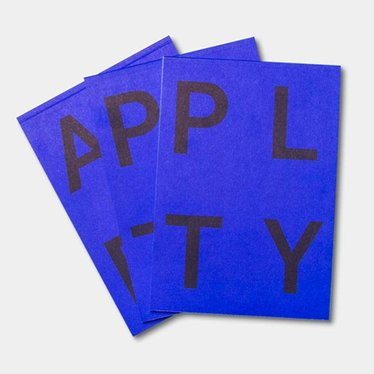 Playtype PLTY Notitieblok acid blue