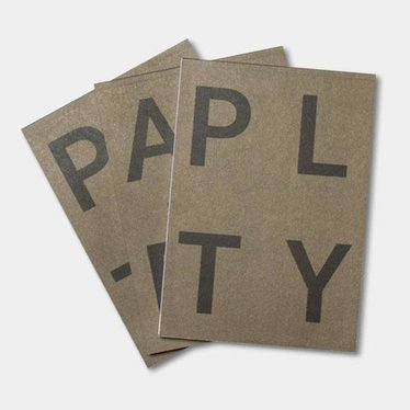 Playtype PLTY Notepad army green
