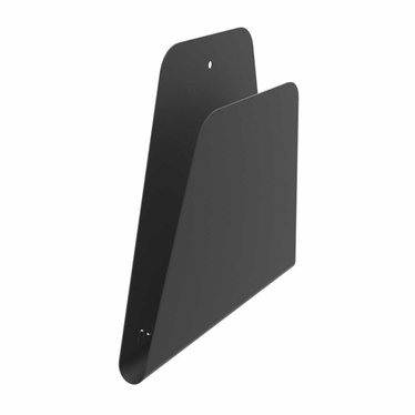 Nur magazine holder Curve black