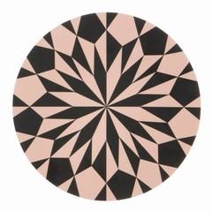 Ferm Living plankje-onderzetter Star rose