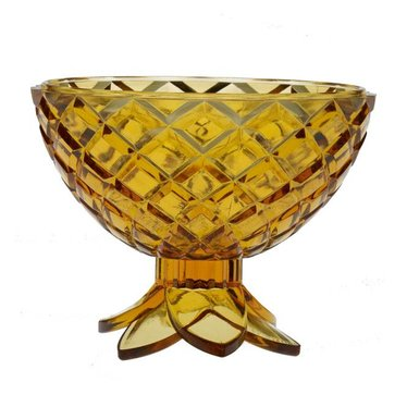 Giarimi Design Caribbean Cocktail 'Pineapple Bowl' serving dish, yellow