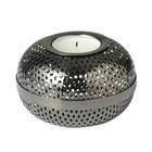 Louise Roe tealight holder Hilda gun metal