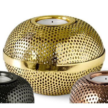 Louise Roe Tealight holder Holger brass (large)