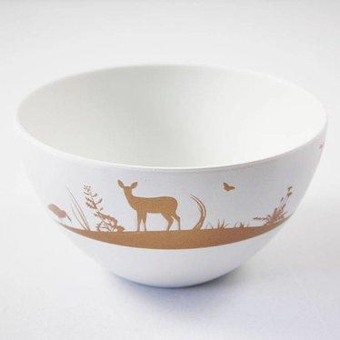 Hanablomst Bowl Nordic Field bronze