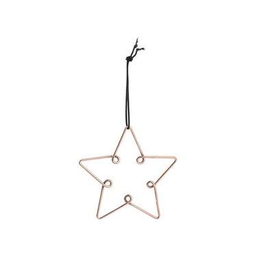 Louise Roe Star ornament copper size M