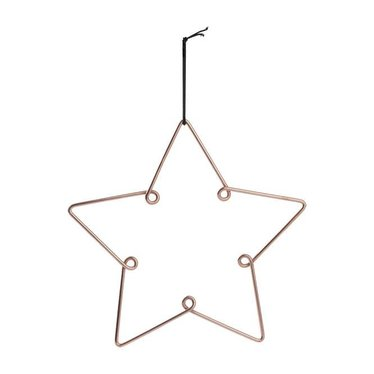 Louise Roe Star ornament copper maat L