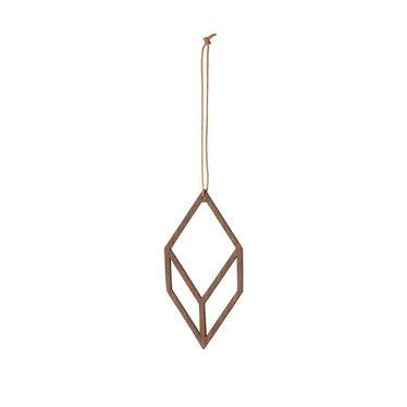 Ferm Living Wooden Diamond 2