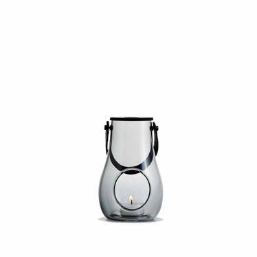 Holmegaard Design with Light lantern smoke glass 16 cm