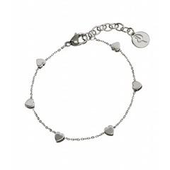 Edblad armbandje Heart Multi steel