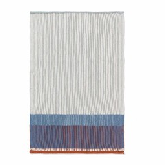 Ferm Living hand/tea towel Akin dull blue