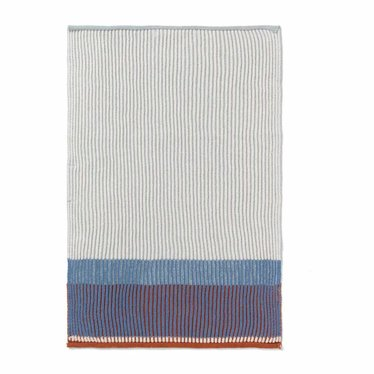 Ferm Living Hand / tea towel Akin - Dull Blue